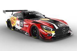 #89 AKKA ASP, Mercedes-AMG GT3: Daniele Perfetti, Laurent Cazenave, Michael Lyons, Morga Moullin-Tra