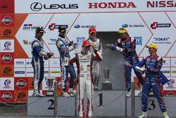 GT300 podium celebration