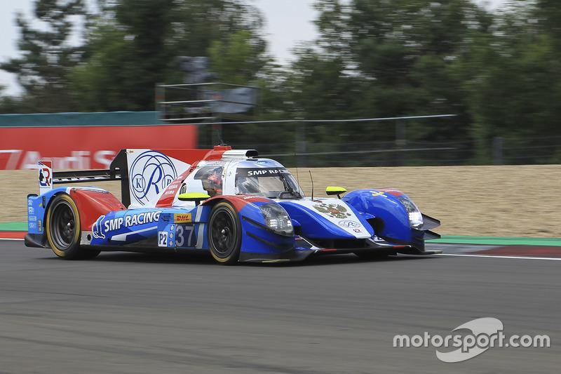 9. LMP2: #37 SMP Racing, BR01 - Nissan
