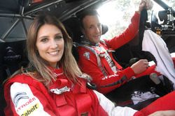 Kris Meeke, Citroën World Rally Team, mit Diana Pereira