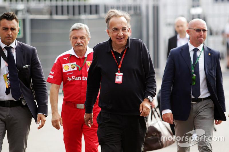 Sergio Marchionne, Ferrari Başlanı Fiat Chrysler Automobiles CEO'su
