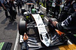 Нико Хюлькенберг, Sahara Force India F1 VJM09 на стартовой решетке