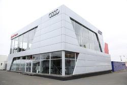 Audi Sport Team Joest motorhome