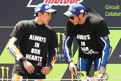 1. Valentino Rossi, 2. Marc Marquez