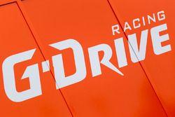 G-Drive Racing zona de Paddock y logo