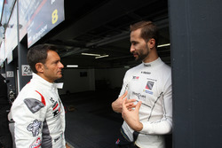 Gianni Morbidelli, West Coast Racing, Honda Civic TCR y Mikhail Grachev, West Coast Racing, Honda Ci