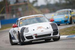 #6 Rebel Rock Racing Porsche 997: Frank Depew, Jim Jonsin