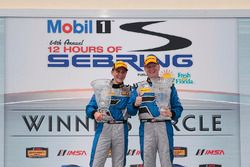Race winners Trent Hindman, Cameron Cassels