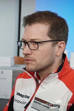 Andreas Seidl, director del equipo Porsche