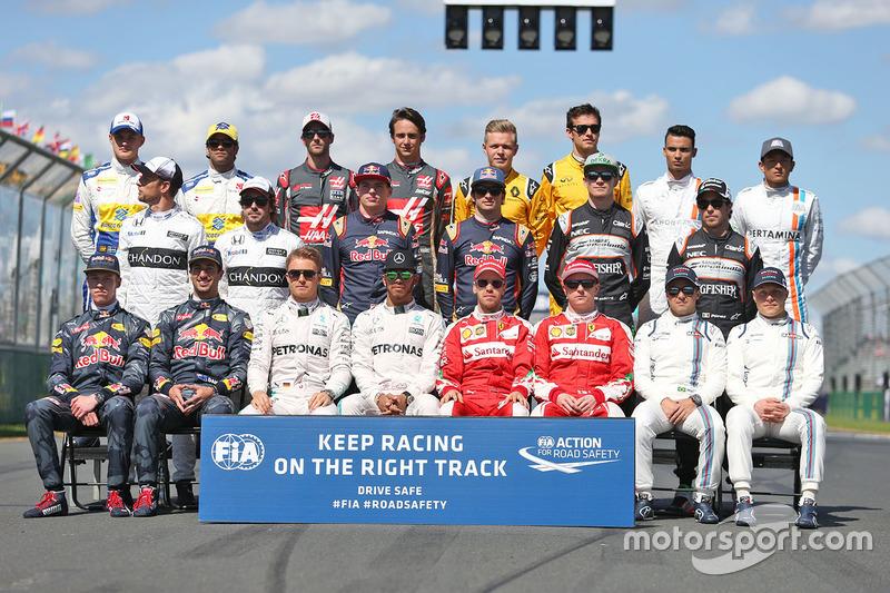 Clase 2016 Fórmula 1