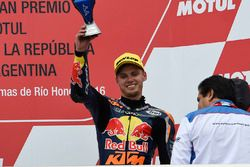 Podium: tercer lugar, Brad Binder, Red Bull KTM Ajo