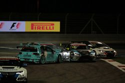 02 Jean-Karl Vernay Volkswagen Golf GTI TCR, Leopard Racing and Dusan Borkovic, Seat Leon B3 Racing Team Hungary