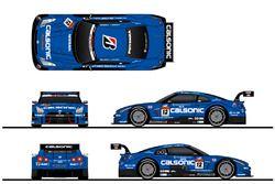 #12 Calsonic Impul GT-R カラーリングイメージ