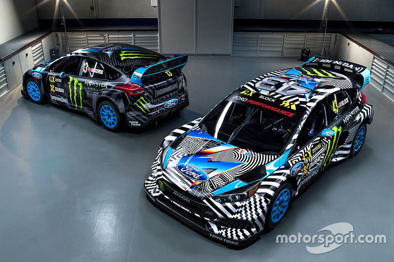 Andreas Bakkerud, Ken Block, Hoonigan Racing Division Ford livery