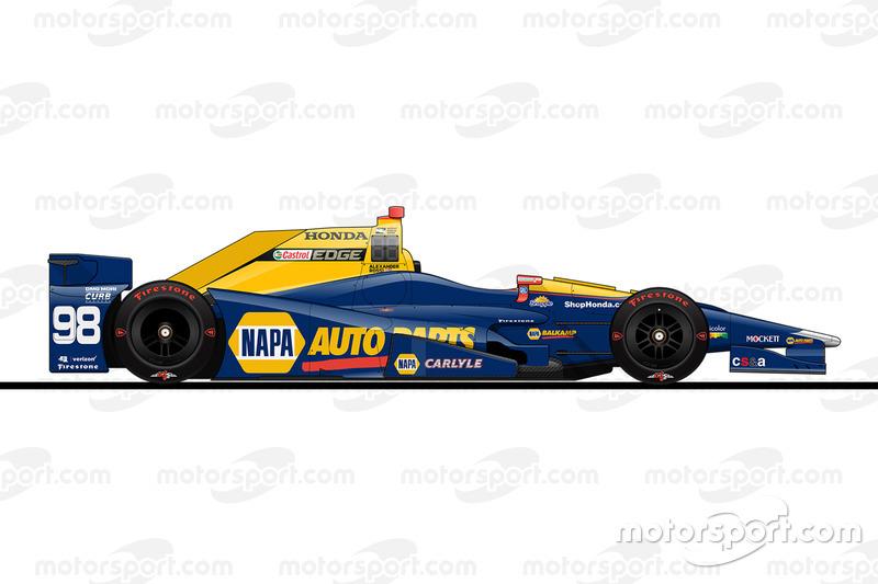 11. Александр Росси, Herta - Andretti Autosport Honda