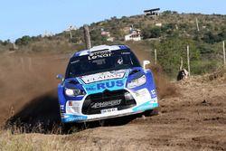 Marco Ligato, Ruben Garcia, Citroën DS3 WRC