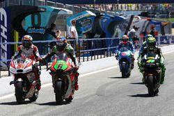 Michele Pirro, Octo Pramac Racing y Stefan Bradl, Aprilia Racing Team Gresini