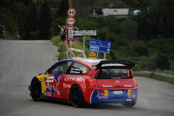 Luca Pedersoli, Matteo Romano, Citroen C4 WRC #3