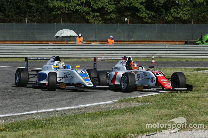 Raul Guzman Marchina, DR Formula e Simone Cunati, Vincenzo Sospiri Racing