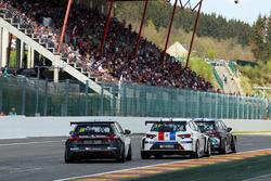 Grégory Guilvert, Sébastien Loeb Racing, Peugeot 308 Racing Cup; Loris Hezemans, Ferry Monster Autosport, SEAT León TCR