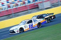 Matt Tifft, Joe Gibbs Racing Toyota, David Starr, TriStar Motorsports Toyota