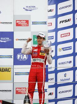 Rookie Podium: 3. Guanyu Zhou, Motopark, Dallara F312, Volkswagen