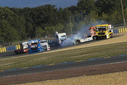 Crash: Anthony Janiec, MAN