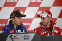 Jorge Lorenzo, Yamaha Factory Racing, Andrea Dovizioso, Ducati Team