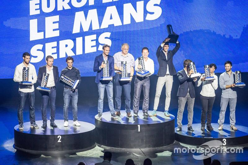 Champions LMP2: #38 G-Drive Racing Gibson 015S-Nissan: Simon Dolan, Giedo van der Garde, Harry Tinck