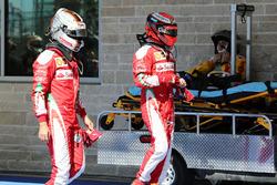 Sebastian Vettel en Kimi Raikkonen, Ferrari
