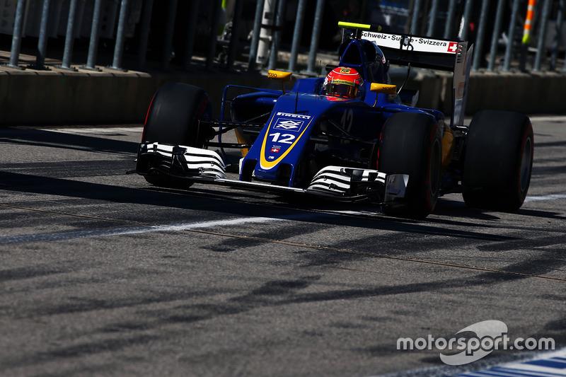 Com a 15ª posição, Felipe Nasr permanece sem pontuar.