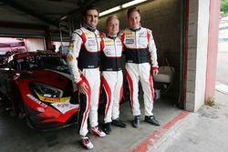 #88 AKKA ASP Mercedes AMG GT3: Tristan Vautier, Felix Rosenqvist, Renger van der Zande