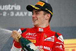Race winner Charles Leclerc, ART Grand Prix