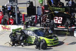 Ryan Blaney, Team Penske Ford, pit stop
