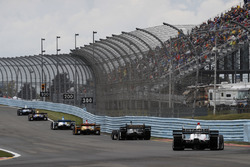 Max Chilton, Chip Ganassi Racing Honda, Alexander Rossi, Curb Herta - Andretti Autosport Honda, Marc