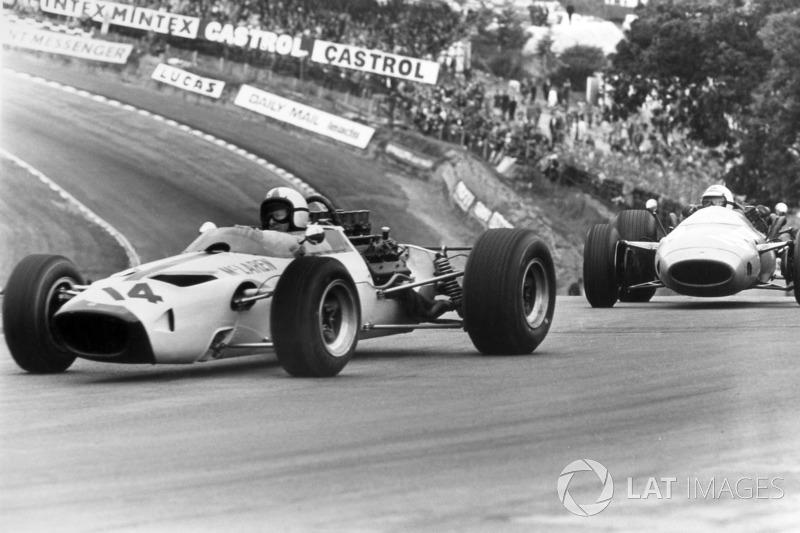 Bruce Mclaren Mclaren M2b At Gp De Gran Bretaña Fórmula 1