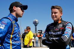 Chase Briscoe, Brad Keselowski Racing Ford, Christopher Bell, Kyle Busch Motorsports Toyota