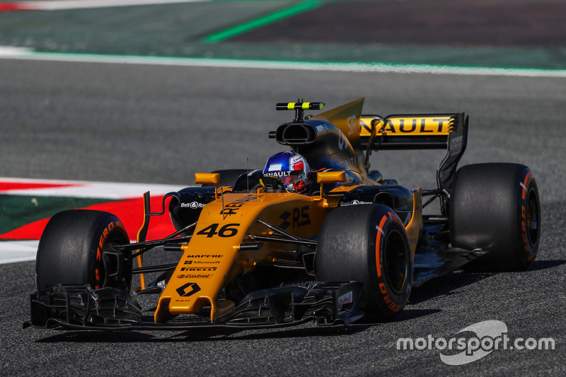 Sergey Sirotkin, Renault Sport F1 Team RS17 piloto de teste