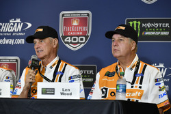 Ryan Blaney, Wood Brothers Racing Ford conferenza stampa, presentazione della vettura