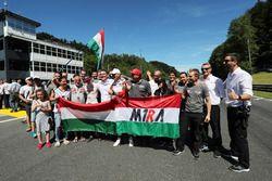 Attila Tassi, M1RA, Honda Civic TCR, mit Norbert Michelisz