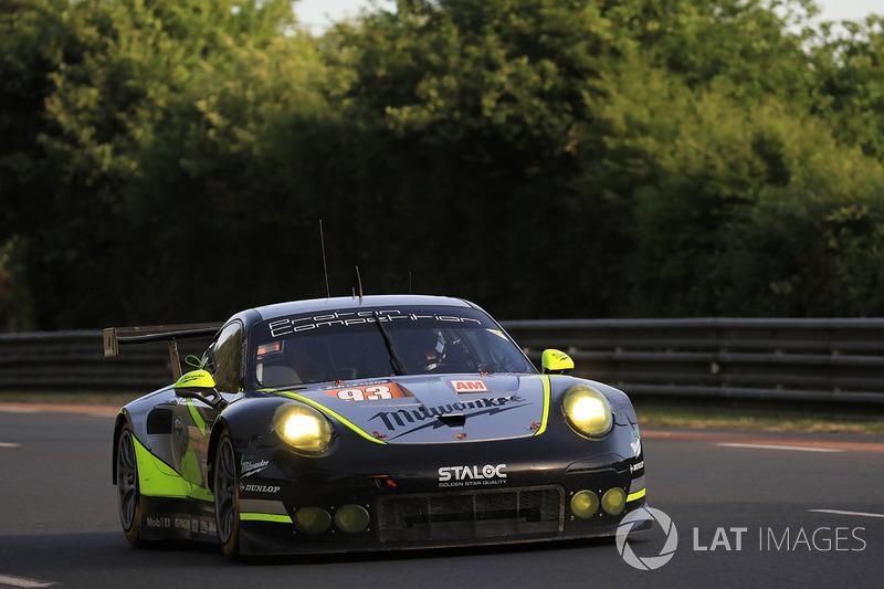 #93 Proton Competition Porsche 911 RSR: Patrick Long, Abdulaziz Al Faisal, Mike Hedlund