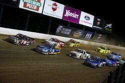 Noah Gragson, Kyle Busch Motorsports Toyota, Chase Briscoe, Brad Keselowski Racing Ford, Justin Ship