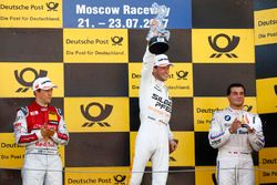 Podio: Ganador de la carrera Maro Engel, Mercedes-AMG Team HWA, Mercedes-AMG C63 DTM, segundo lugar