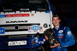 Truck winner Dmitry Sotnikov, Team Kamaz Master