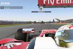 Burak Pala Sanal Pilot 2017 Britanya GP