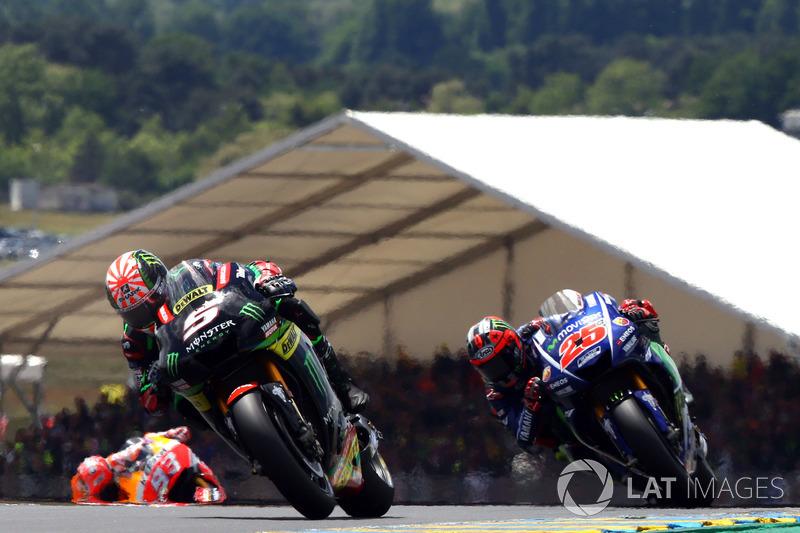 Жоан Зарко, Monster Yamaha Tech 3, и Маверик Виньялес, Yamaha Factory Racing