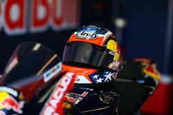 Il casco di Nicky Hayden, Honda World Superbike Team