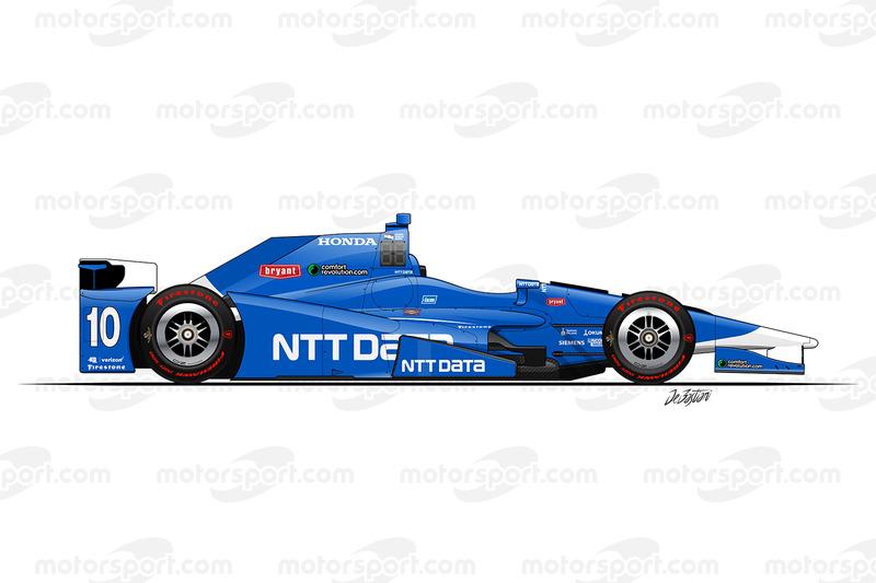#10 - Tony Kanaan, Chip Ganassi Racing Honda