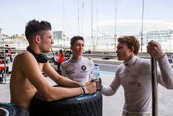 Джейк Деннис, Arden International, Джек Эйткен, Arden International, и Мэтт Перри, Koiranen GP