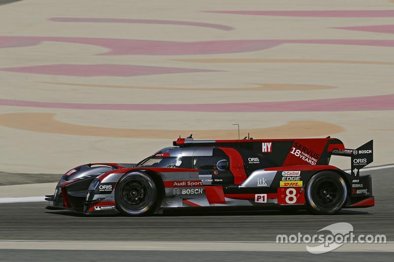 1. LMP1: #8 Audi Sport Team Joest, Audi R18: Lucas di Grassi, Loic Duval, Oliver Jarvis